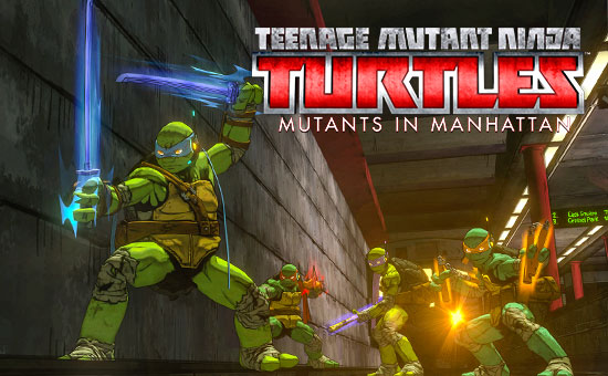 Teenage Mutant Ninja Turtles: Mutants In Manhattan For PS4 - Buy Now at GAME.co.uk!