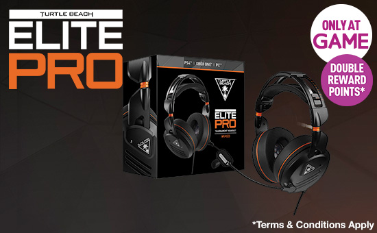 Turtle Beach Elite Pro Headset for PS4 - Pre-order Now at GAME.co.uk!