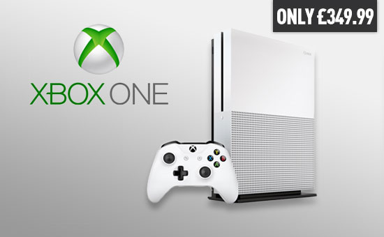 Xbox One S Console - Pre-order Now at GAME.co.uk!