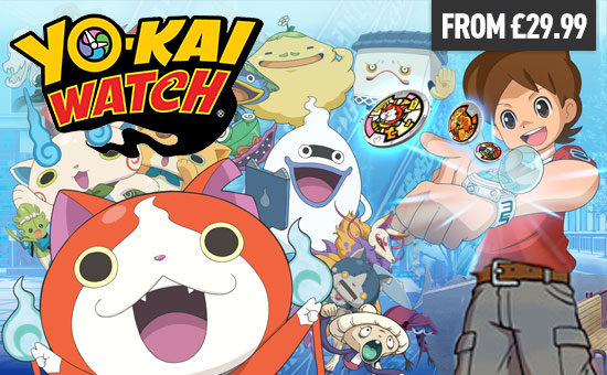 YO-KAI Watch! for Nintendo eShop - Download Now at GAME.co.uk!