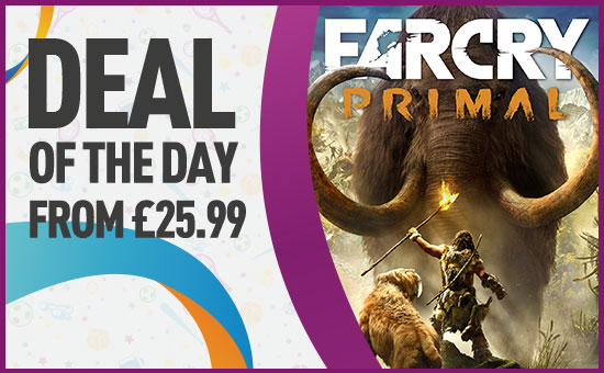 Far Cry Primal Deal of The Day on Xbox One and PS4- Buy now at GAME.co.uk