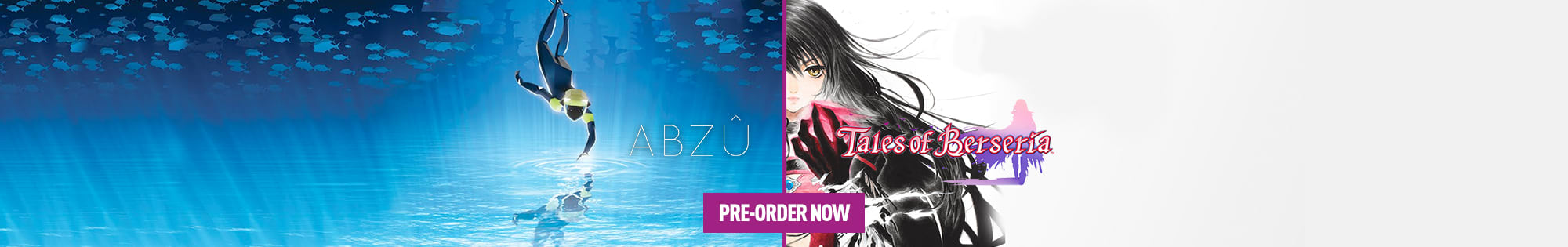 ABZU, Digimon World: Next Order and Tales of Beseria for PS4 and PC Download - Pre-order Now at GAME.co.uk