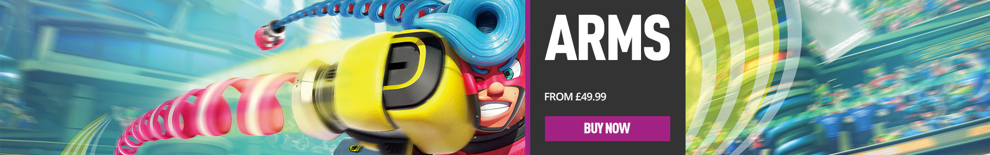 ARMS for Nintendo Switch - Homepage Banner