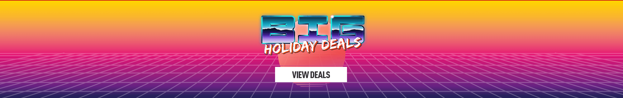 Big Bank Holiday Deals for PlayStation 4, Xbox One and PC - Homepage Banner
