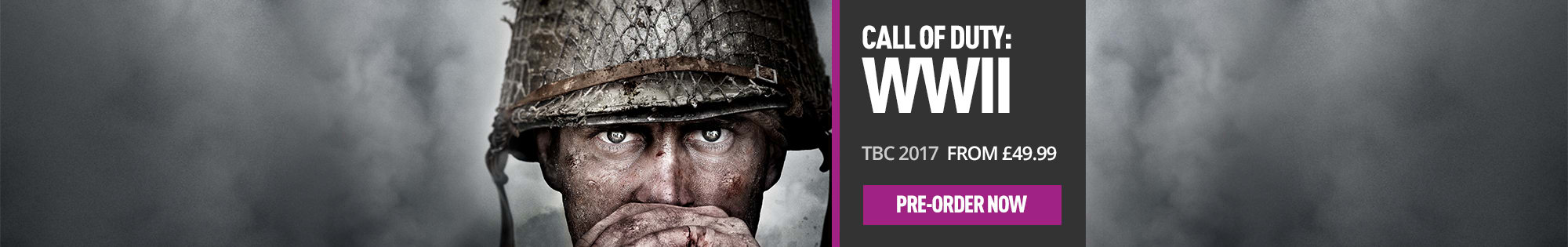 Call of Duty: WWII for PlayStation 4, Xbox One and PC