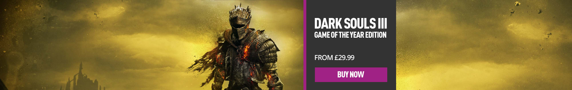 Dark Souls 3 Game Of the Year Edition for PlayStation 4, Xbox One and PC