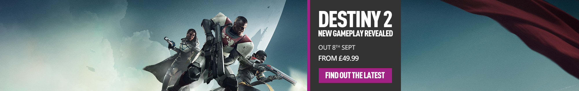 Destiny - Homepage Banner