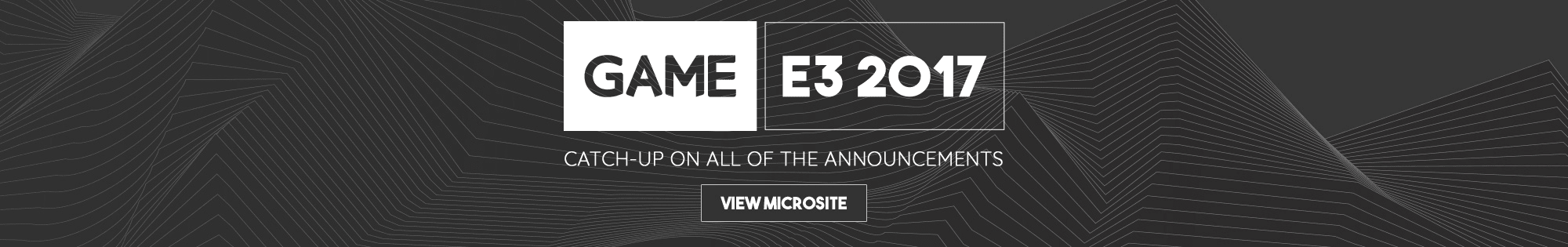 E3 2017 - Homepage Banner