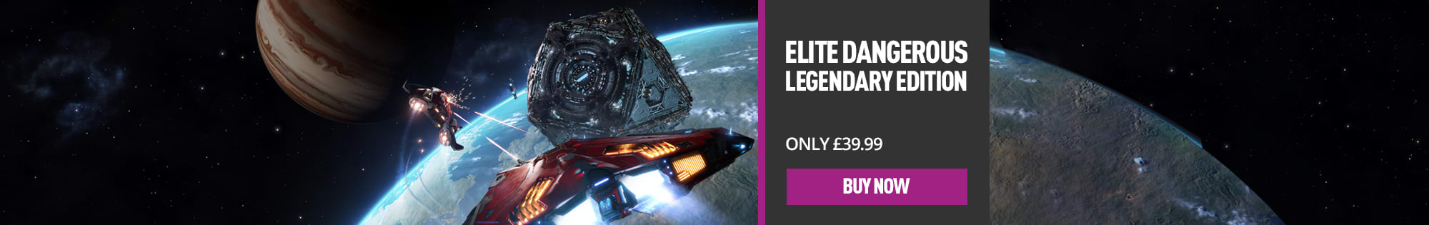 Elite Dangerous for PlayStation 4 & Xbox One - Homepage Banner