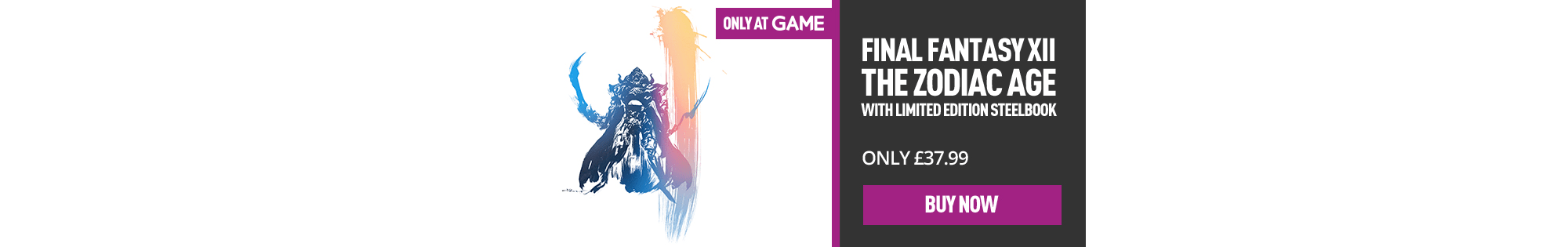 Final Fantasy XII The Zodiac Age - Buy Now at GAME.co.uk