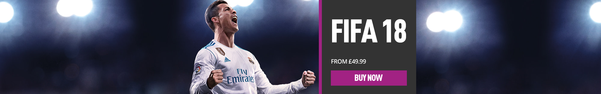 Last chance: Pre-order FIFA 18 now! - Homepage Banner