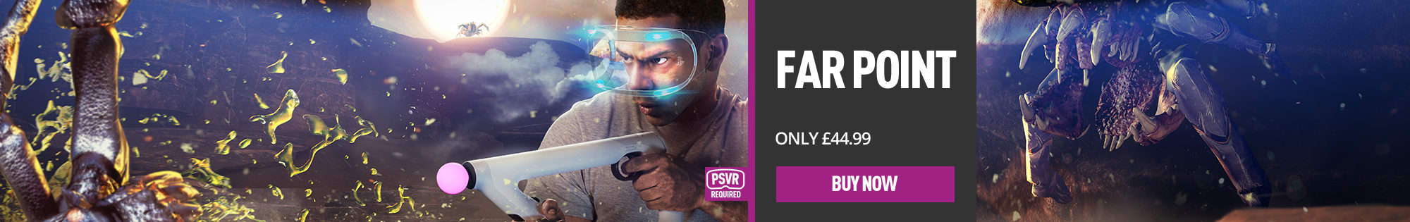 Farpoint for PlayStation 4 - Homepage Banner
