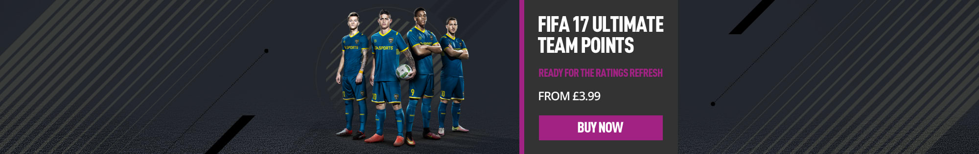 FIFA 17 Ultimate Team Points for Xbox Live and Playstation Network