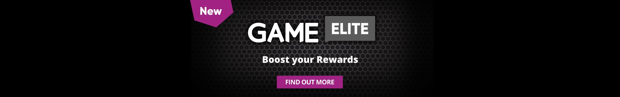 Game Elite - Homepage Banner