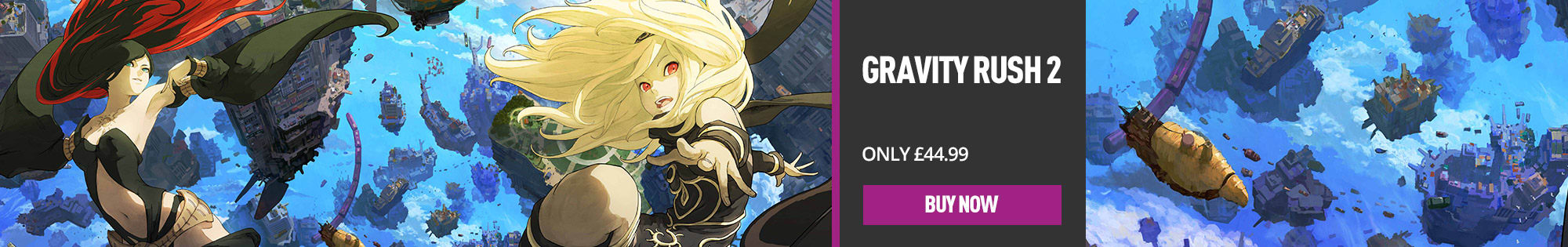 Gravity Rush 2 for PS4 - Buy Now at GAME.co.uk