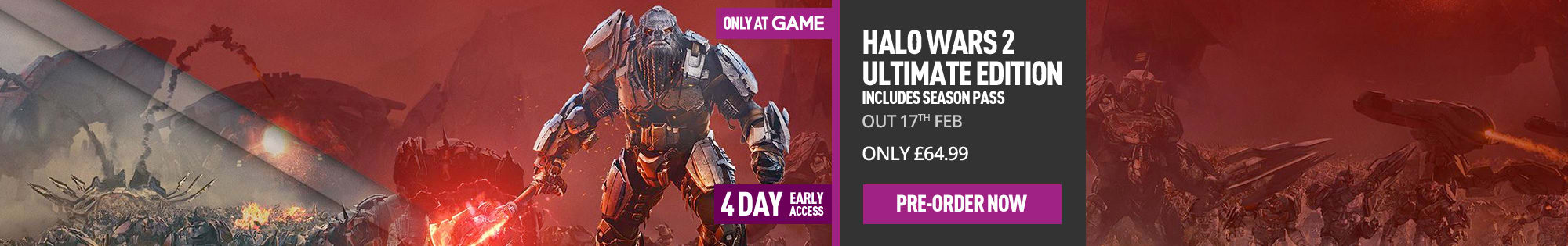 Halo Wars 2 Ultimate Edition - Only at GAME for Xbox One - Pre-order Now at GAME.co.uk