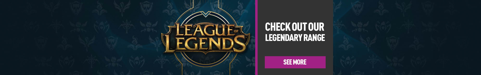 Exclusive League of Legends Merchandise In Store