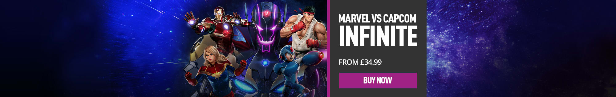 Marvel vs. Capcom Infinite Deluxe Edition: Out now! - Homepage Banner
