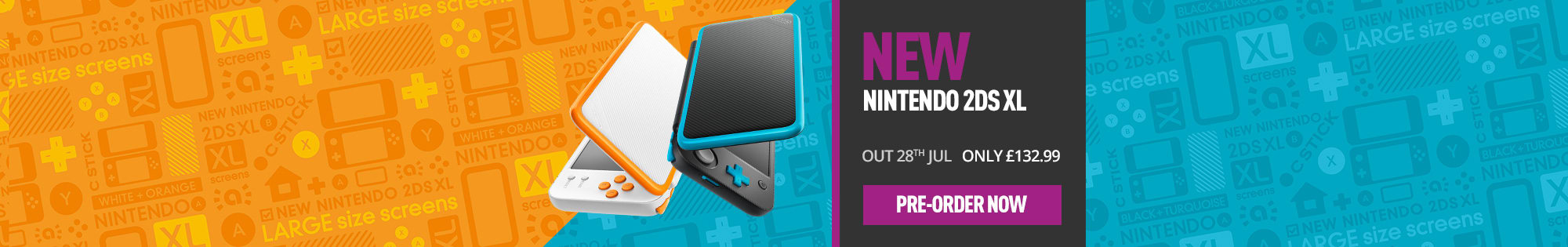 New Nintendo 2DS XL - Homepage Banner