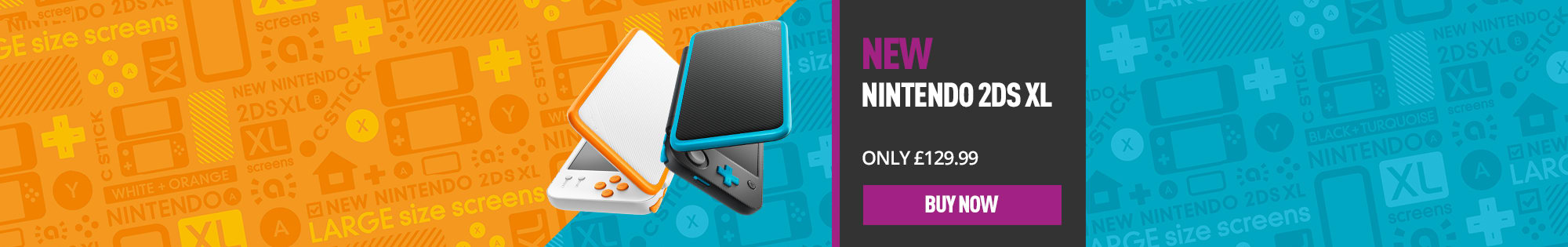 New Nintendo 2DS - Homepage banner