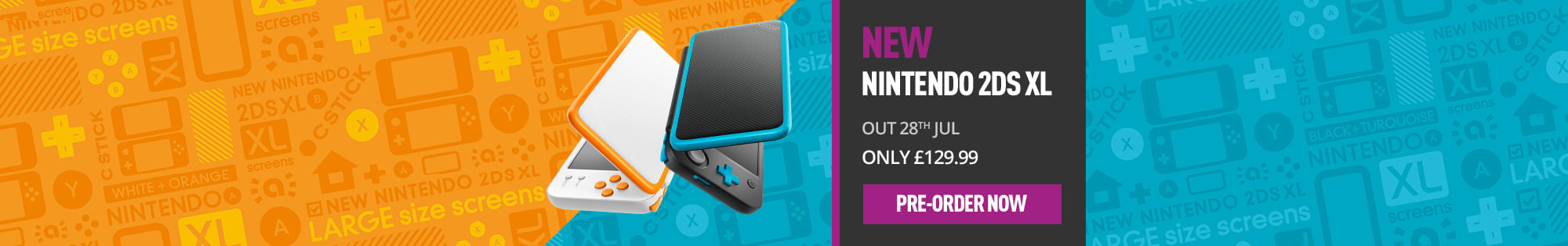 New Nintendo 2DS - Pre-Order Now at GAME.co.uk
