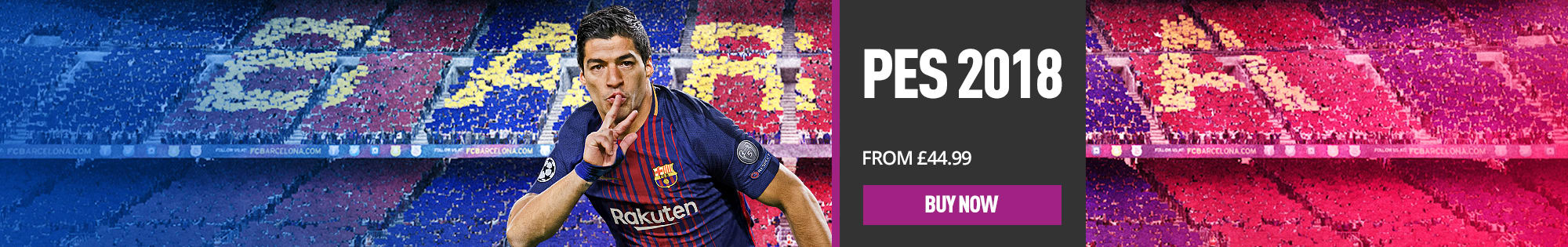 PES 2018 - Buy Now! - Homepage Banner