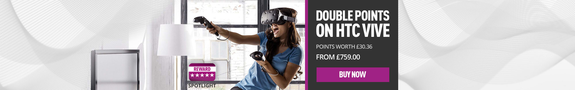 Double Points on HTC Vive