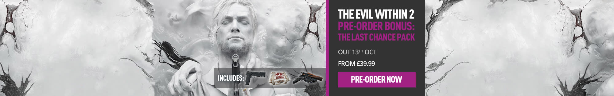Pre-order The Evil Within 2 at GAME.co.uk - Homepage Banners