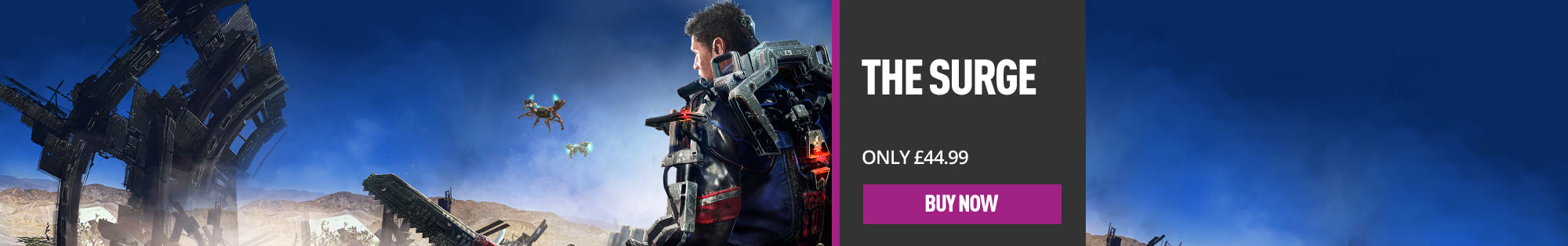 The Surge for PlayStation 4 & Xbox One - Homepage banner