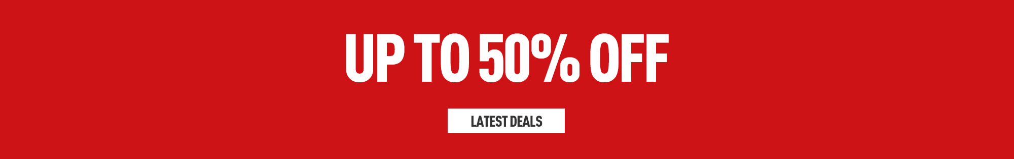 50% Off on Games, Consoles and Accessories - Homepage Banner