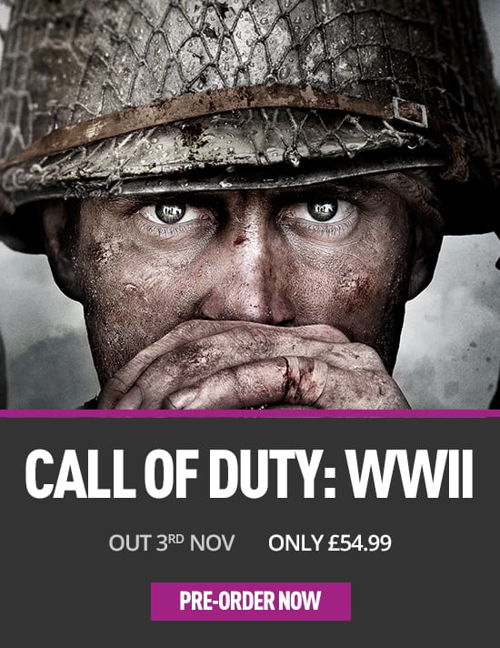 Call of Duty: WWII just announced for PS4 at game.co.uk