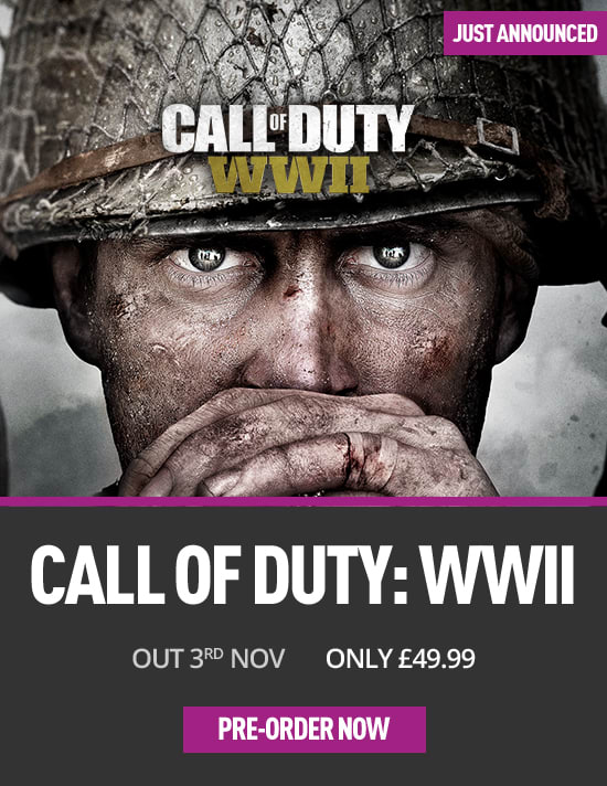 Call of Duty WW II on Xbox One at game.co.uk