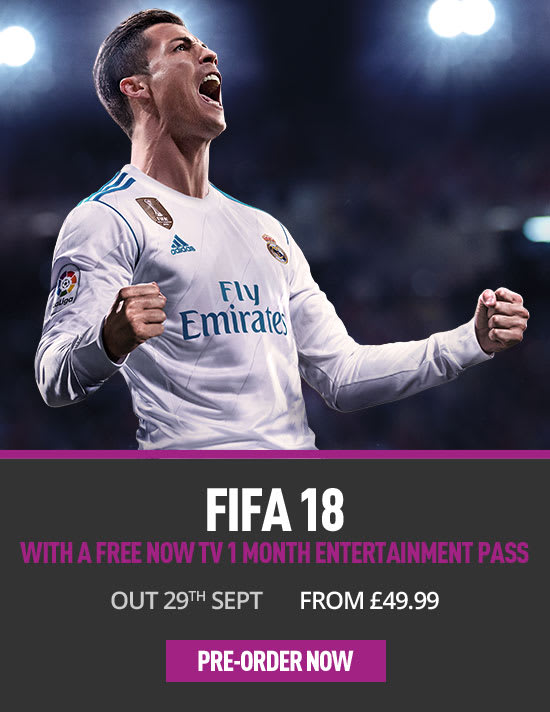 FIFA 18 PS4 at GAME.co.uk