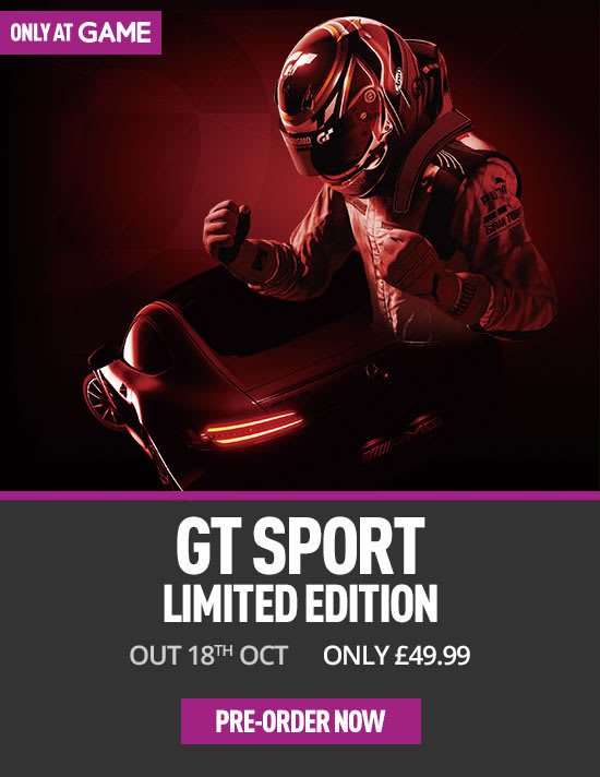 GT Sport Limited Edition on PS4 at GAME.co.uk
