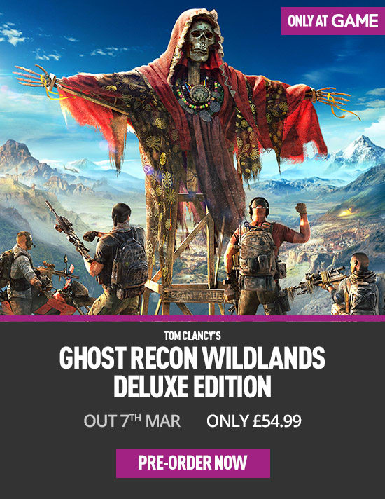 Ghost Recon Wildlands Deluxe Edition - Only at GAME for Xbox One