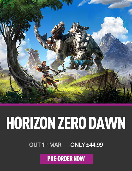 Horizon Zero Dawn on PS4- at GAME.co.uk