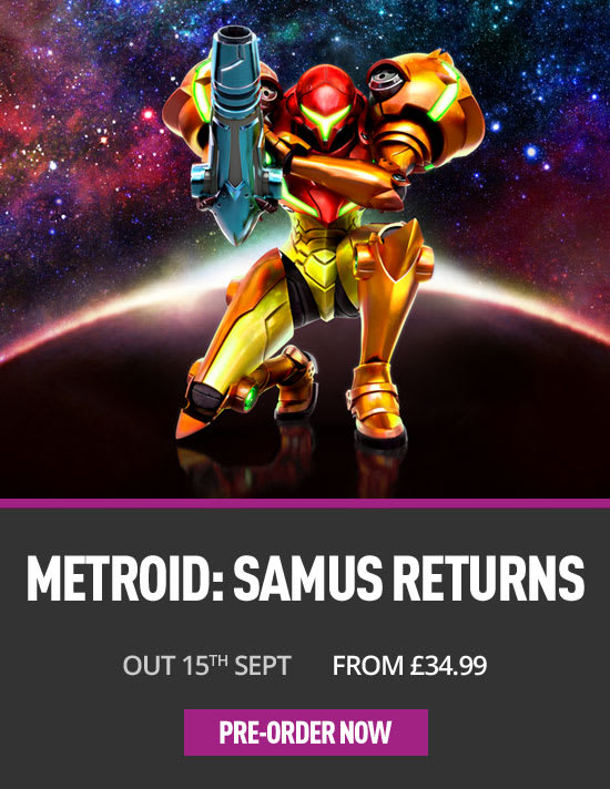Metroid Samus Returns- Preorder Now at GAME.co.uk!