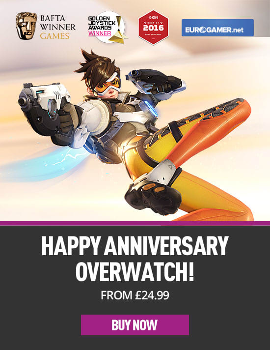 Overwatch Birthday Xbox One