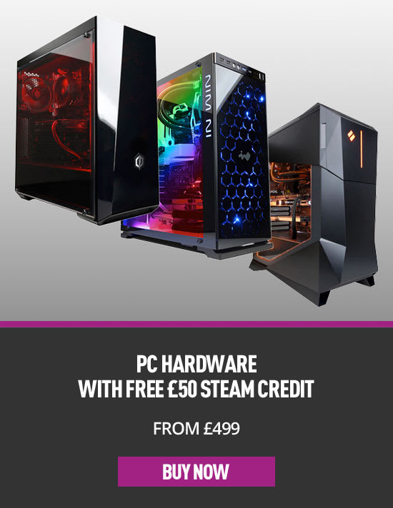 PC Hardware with Free £50 Steam Credit - Buy Now at GAME.co.uk