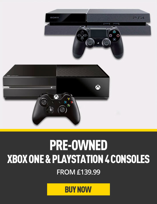 Pre-owned Xbox One and Ps4 Consoles - Buy now at GAME.co.uk
