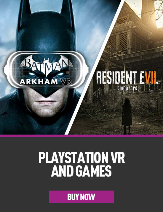 PlayStation VR and games for PS4 - Pre-order Now at GAME.co.uk!