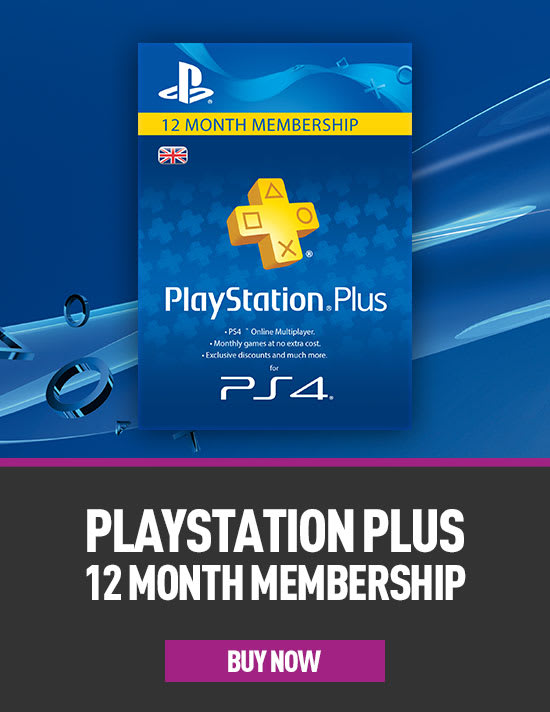 12 Months PlayStation Plus for PS4  - Download now at GAME.co.uk!