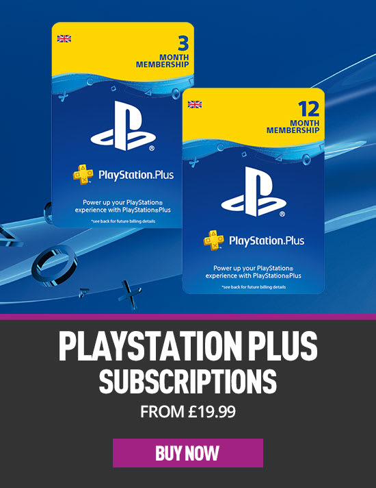 PlayStation Plus Subscriptions at GAME.co.uk