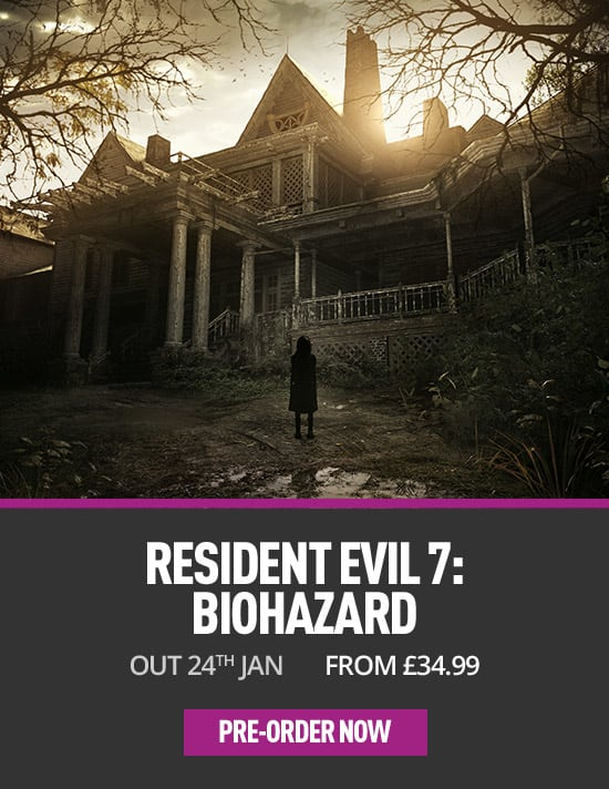Resident Evil 7 for PC - Pre-order Now at GAME.co.uk!