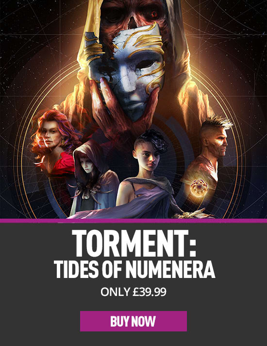 Torment: Tides of Numenera - Day One Edition - Buy Now at GAME.co.uk
