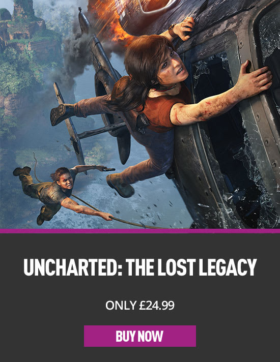 Uncharted 4 The Lost Legacy on PS4 at GAME.co.uk