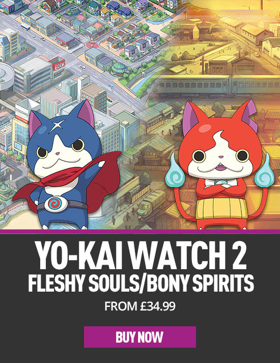 Yo-Kai Watch 2 for Nintendo 3DS- Preorder Now at GAME.co.uk!