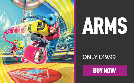 ARMS for Nintendo Switch - Download Now at GAME.co.uk!