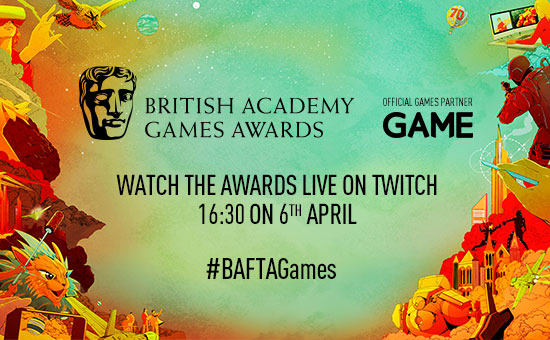 GAME are proud to be an Official Games Partner to The BAFTA Games Awards 2017.