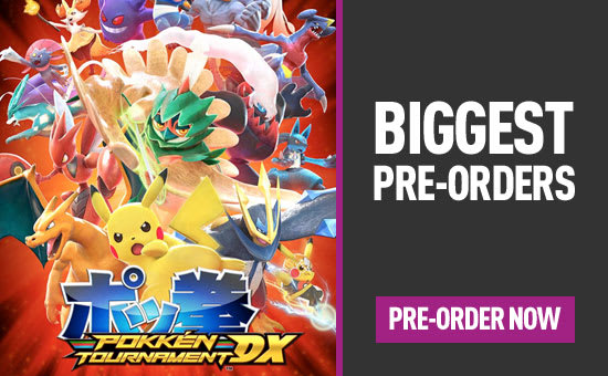 Biggest Pre-orders for PlayStation 4, Xbox One, Nintendo Switch and PC - Homepage eSpot